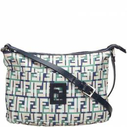 Fendi Multicolor Zucca Canvas Crossbody Bag 215278
