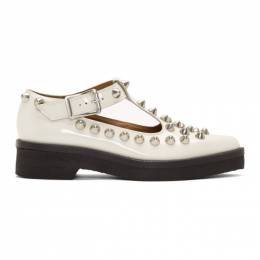 Marc Jacobs White The Mary Jane Loafers 192190F12100406GB