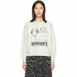 Marc Jacobs Off-White The Peanuts Edition Snoopy Sweatshirt 192190F09800201GB