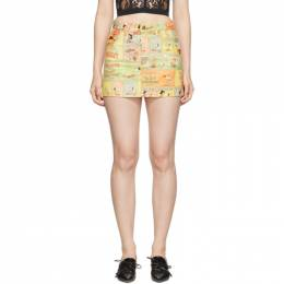 Marc Jacobs Multicolor Peanuts Edition The Micro Skirt 192190F09000202GB