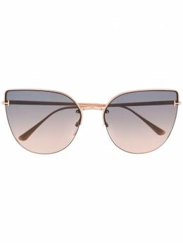 Tom Ford Eyewear - Ingrid cat-eye oversized sunglasses 50953535530000000000