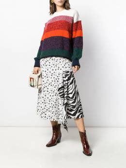 Dorothee Schumacher - striped knit jumper 56995305963000000000