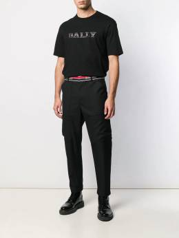 Bally - logo stripe tailored trousers A936F393395505385000