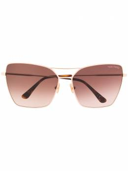 Tom Ford Eyewear - Sye square oversized sunglasses 38953535960000000000