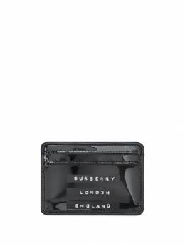 Burberry - Tape Print Laminated Card Case 93359538503900000000