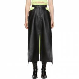 Alexander Wang Black Apron Skirt 192187F09000701GB