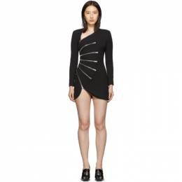 Alexander Wang Black Sunburst Zip Dress 192187F05201304GB