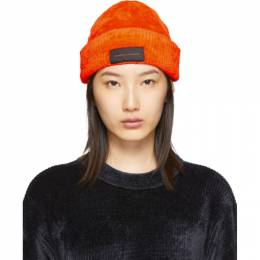 Alexander Wang Orange Chynatown Beanie 192187F01400301GB