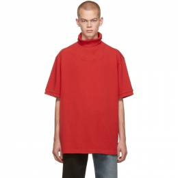 Vetements Red Polo Turtleneck 192669M20500302GB
