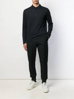 Majestic Filatures - buttoned polo shirt 660M6699559665900000