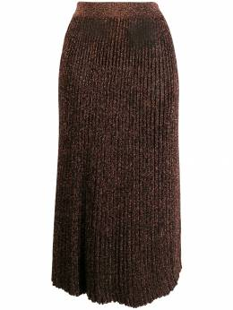 Michael Kors Collection - glitter detail pleated skirt AKN95995563339000000