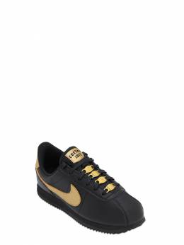 Cortez Basic Faux Leather Strap Sneakers Nike 70IWXM023-MDAx0