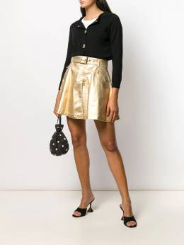 Moschino - A-line belted skirt 05550095595356000000