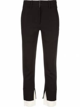 Ann Demeulemeester - contrast-trim tailored trousers 09566P96369995505959