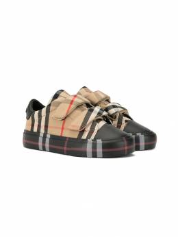 Burberry Kids - Vintage Check sneakers 69569509905500000000