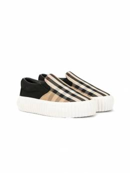 Burberry Kids - Vintage Check sneakers 50359509905500000000