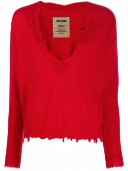 Uma Wang - distressed cashmere jumper 95895569336000000000