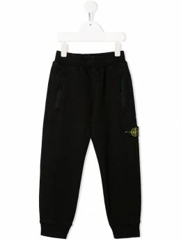 Stone Island Junior - logo patch track trousers 66965059559698900000