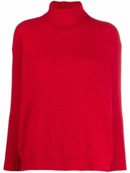 Marni - mixed-stitched knitted sweater D6663A6FZ35595509663
