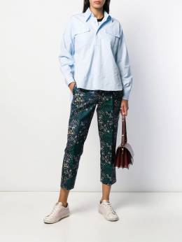 Zadig&Voltaire - cropped tailored trousers E6969F95550699000000