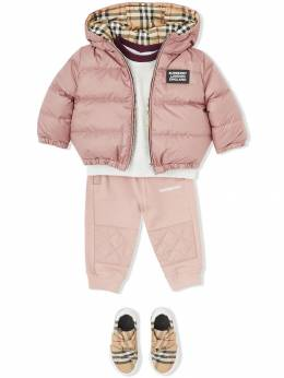Burberry Kids - Reversible Vintage Check Down-filled Puffer Jacket 38369559665900000000