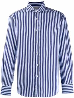 Brunello Cucinelli - striped long-sleeved shirt 059398C6959533355000