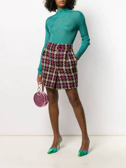 Versace - woven checked mini skirt 396A0398009559398500