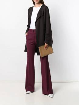 Theory - high-waisted flared trousers 90699553366300000000