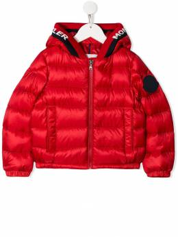 Moncler Kids - quilted hooded jacket 93595333595365830000
