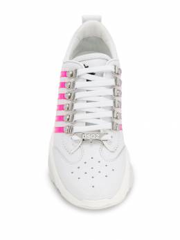 Dsquared2 - leather panelled sneakers 66536656935395505568
