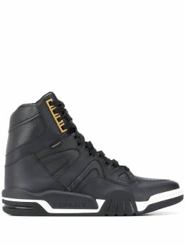 Versace - hi-top panelled sneakers 3563D6VTGD59OH959389