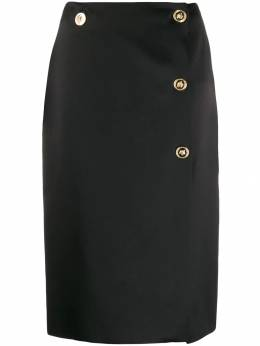 Versace - Medusa detail pencil skirt 699A0395509509639300