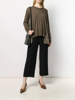 Uma Wang - panelled sweater 935P83A9955686950000