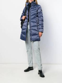 Ea7 Emporio Armani - quilted fitted coat L65TN65Z955053600000