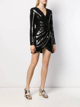 P.A.R.O.S.H. - Pilled cocktail dress LED33990995556633000