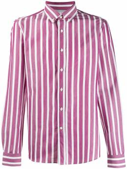 Brunello Cucinelli - striped long-sleeved shirt 333668C6889533333600