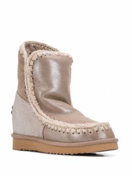 Mou - Eskimo Wedge snow boots W909666CMGEGRY955958