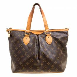 Louis Vuitton Monogram Canvas and Leather Palermo PM Bag 156100