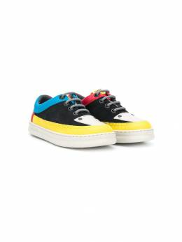 Camper - colour block mid-top sneakers 63069536655900000000