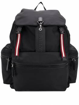Bally - logo charm backpack 86559550396500000000