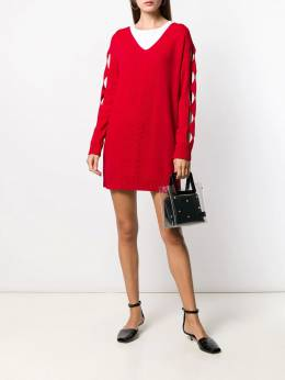 Boutique Moschino - intarsia knitted dress 96696995566666000000