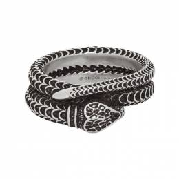 Gucci Silver Snake Ring 192451M14700407GB