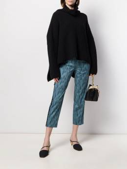 Piazza Sempione - cropped printed trousers 95330395503396000000