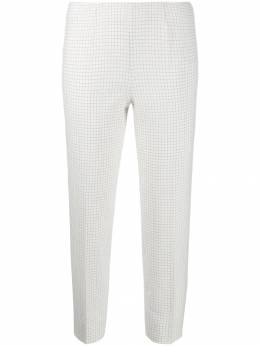 Piazza Sempione - cropped check-print trousers 95330695503805000000