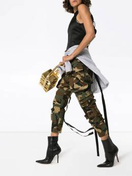 Unravel Project - High-waist camouflage cargo pants F666F99FAB6698866CAM