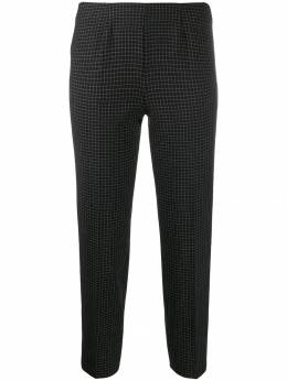 Piazza Sempione - cropped check trousers 95330695503836000000