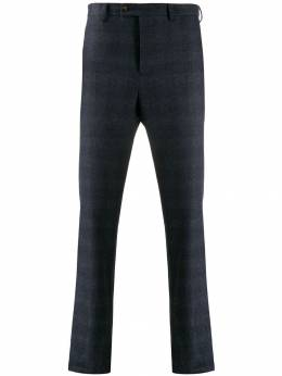 Eleventy - checked tapered trousers PA6350JAC08695953889