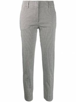 Piazza Sempione - cropped check-print trousers 95330395503838000000
