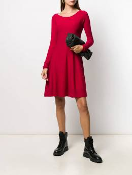 Twin-Set - long-sleeved knitted dress 08995593965000000000