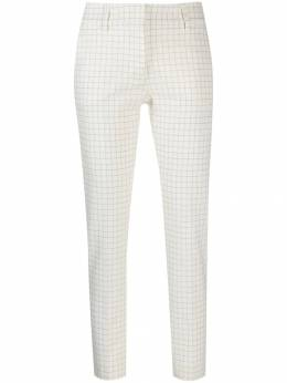 Piazza Sempione - tapered check trousers 95339995503383000000